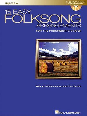 15 Easy Folksong Arrangements By Hal Leonard Publishing Corporation (COR)